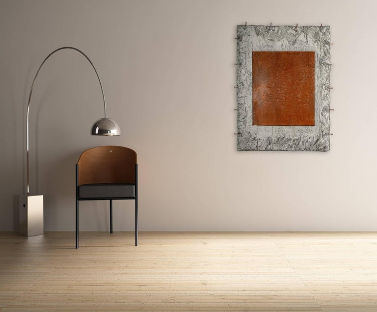Still Steel - Abstract Geometric Mixed Media Art by Pierre Auville