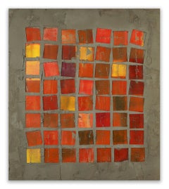 56 Squares (Abstract painting)