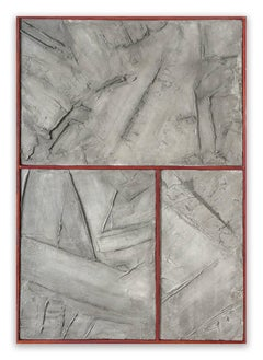 Grey Graphite (Abstract Painting)