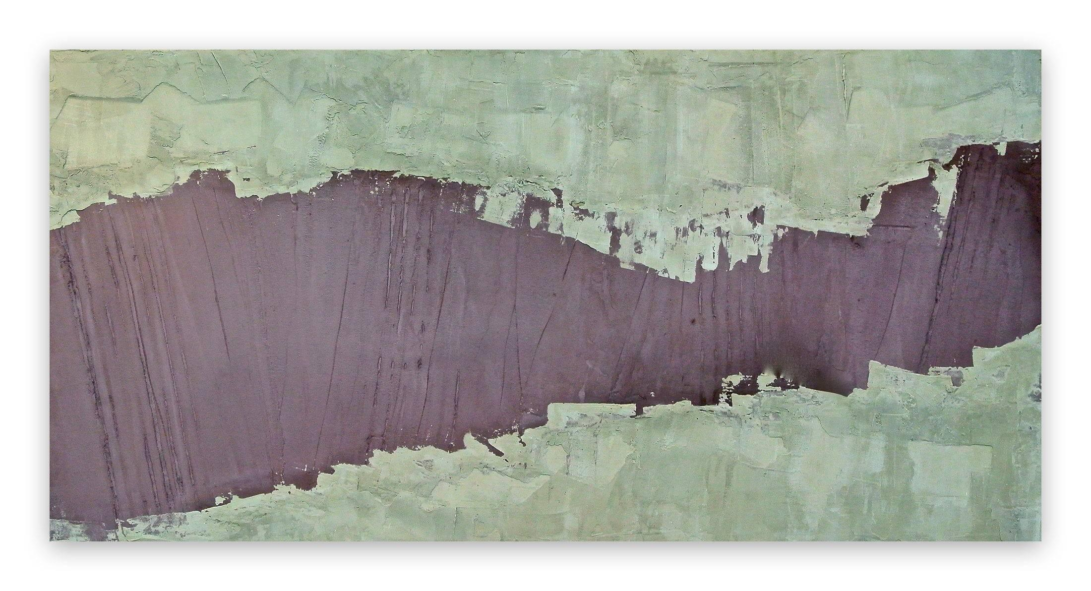 One Dimanche (Abstract painting)