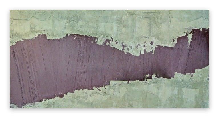 Pierre Auville Abstract Painting - One Dimanche (Abstract painting)