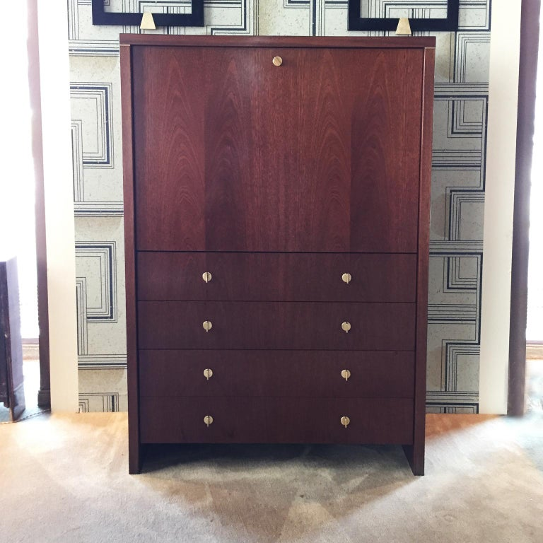 Modern Pierre Balmain Original French Secretaire with Flap, 1980.  For Sale