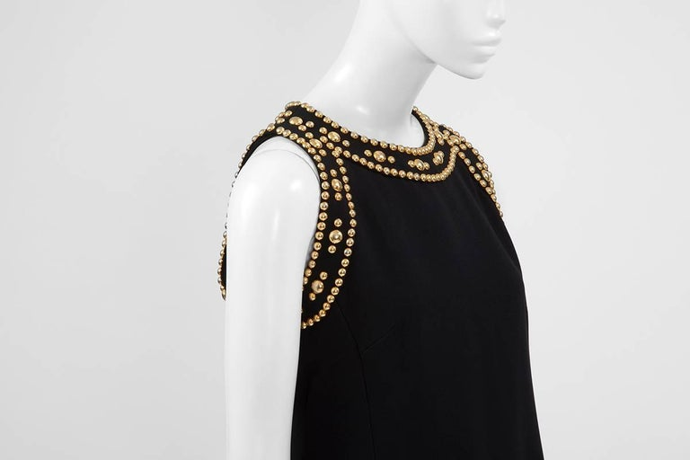 Women's Pierre Balmain Studded Dress For Sale