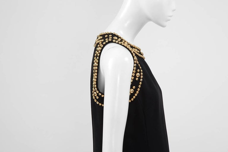 Pierre Balmain Studded Dress For Sale 1