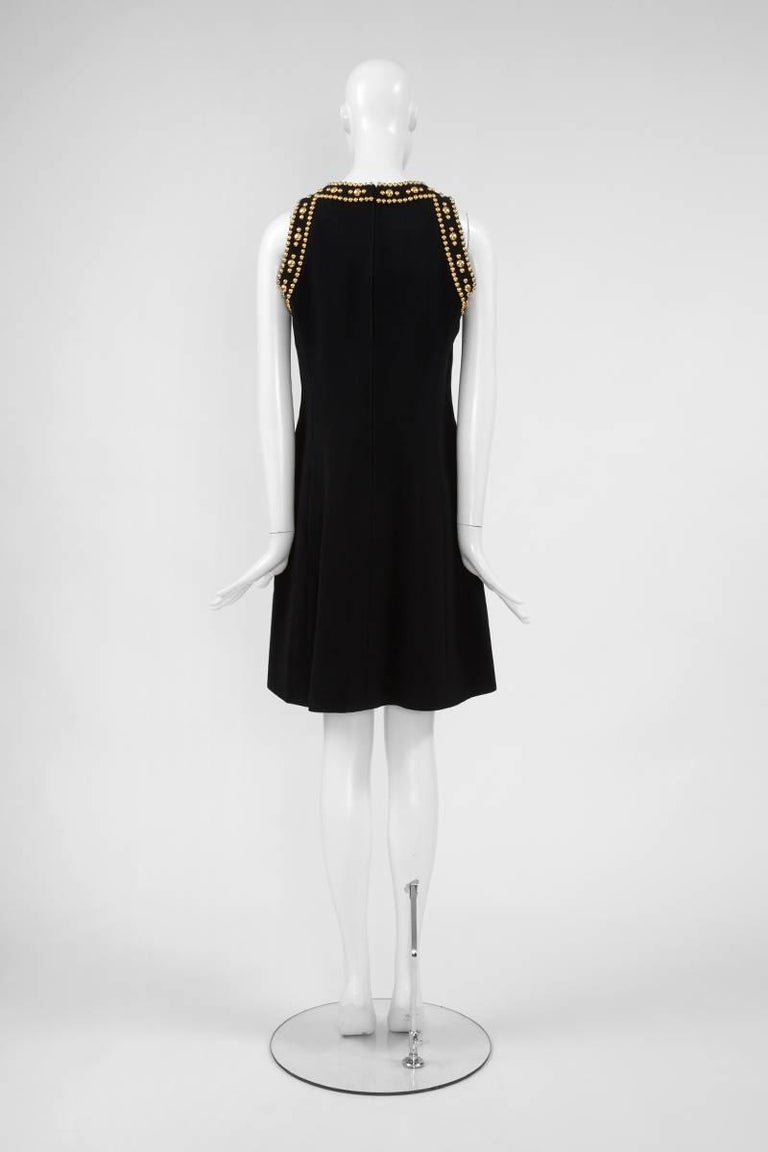 Pierre Balmain Studded Dress For Sale 2