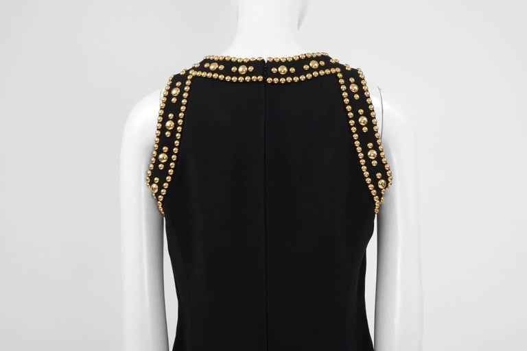 Pierre Balmain Studded Dress For Sale 3