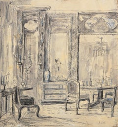 Dining Room of Ann Getty, 2880 Broadway, San Francisco