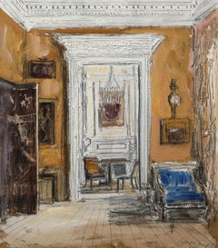 Drawing Room of Evangeline and David Bruce II, Albany, Piccadilly, London