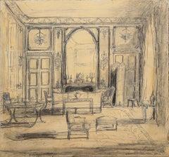 Drawing Room of Hubert de Givenchy, Hôtel d'Orrouer, rue de Grenelle, Paris