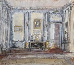 Drawing Room of Jayne Wrightsman, 820 Fifth Avenue, New York