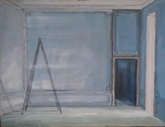 Ladder in Blue Room