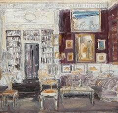 Living Room of Kenneth Jay Lane, 23 Park Avenue, New York