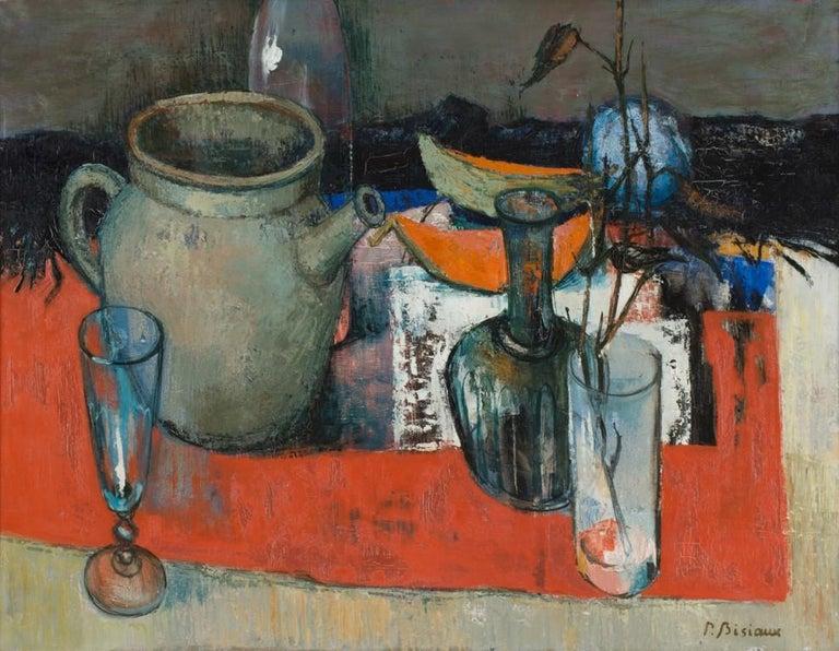 Pierre Bisiaux Still-Life Painting - Still Life