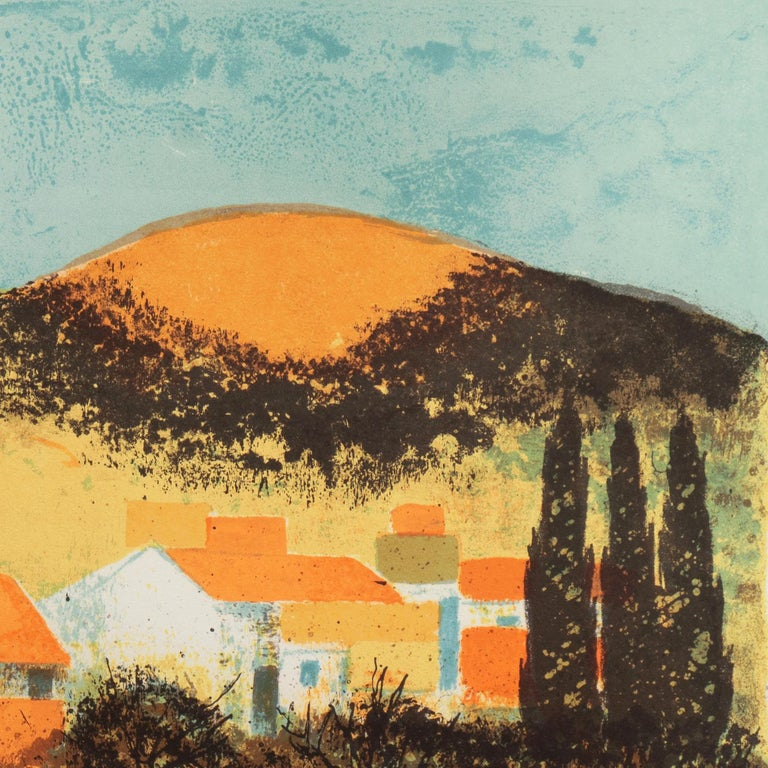 'Sunset over Provence', Paris Salon, Musée d'Art Moderne, Benezit For Sale 5