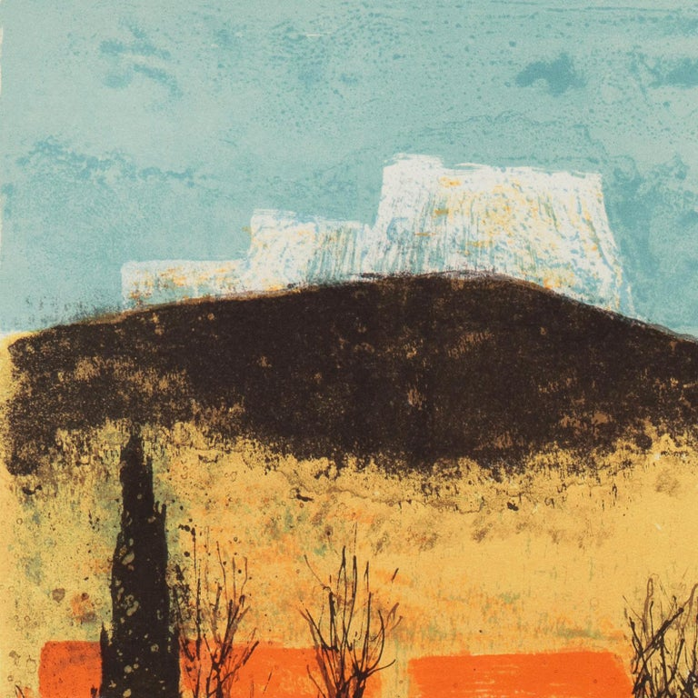 'Sunset over Provence', Paris Salon, Musée d'Art Moderne, Benezit For Sale 3
