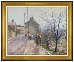 Pierre Bittar Original Oil Painting Canvas Signed Large French Landscape Artwork