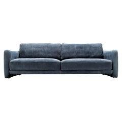 Pierre Blue Sofa by Andrea Pinori and Giorgio Balestri