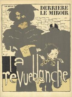 1966 Pierre Bonnard 'DLM No.158-159 Cover' Vintage Brown France Lithograph