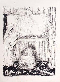 Ceremony II - Original Lithograph by Pierre Bonnard - 1930