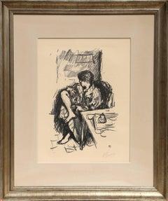 La Toilette Assise, 1925 Lithograph by Bonnard