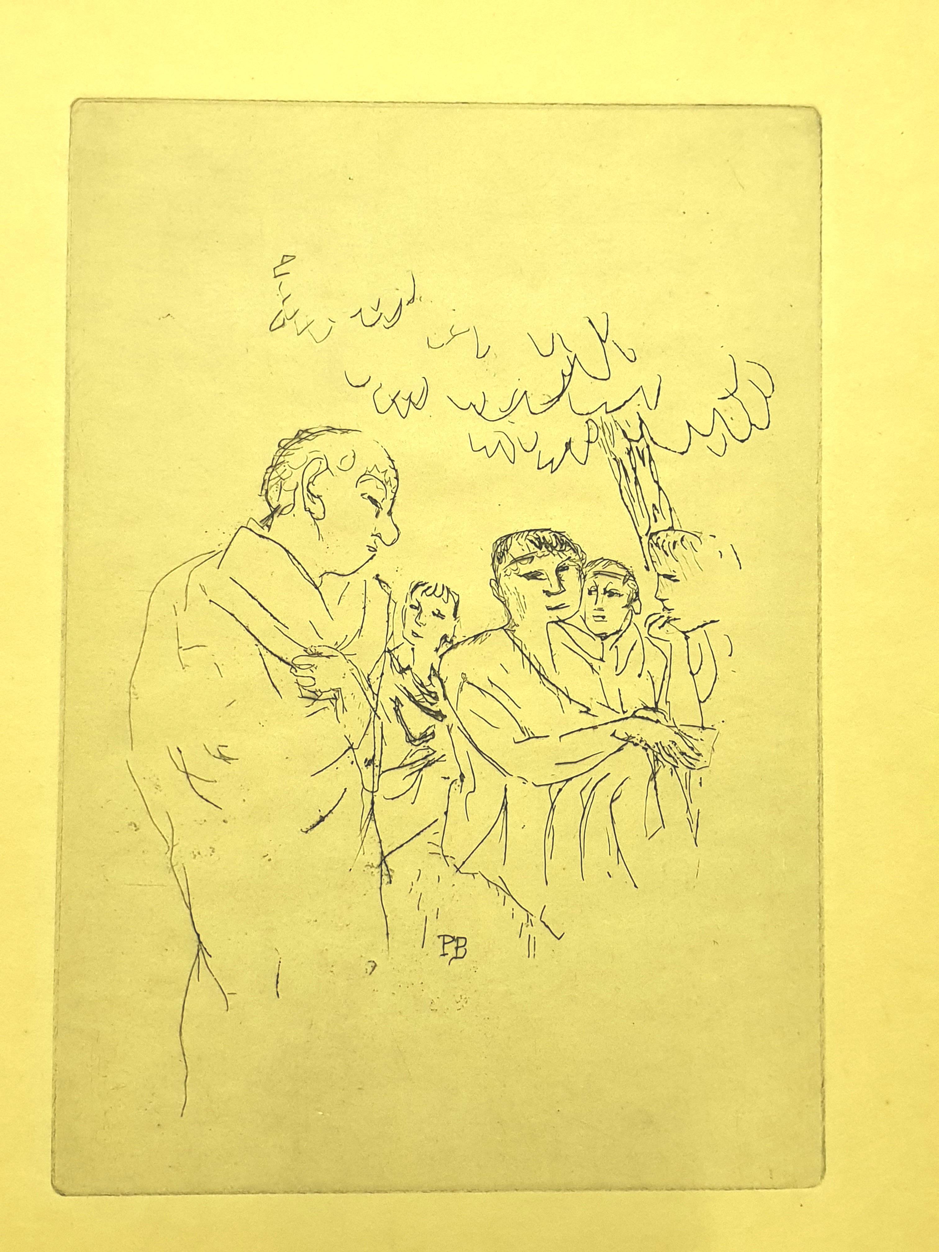 Pierre Bonnard - People - Original Etching