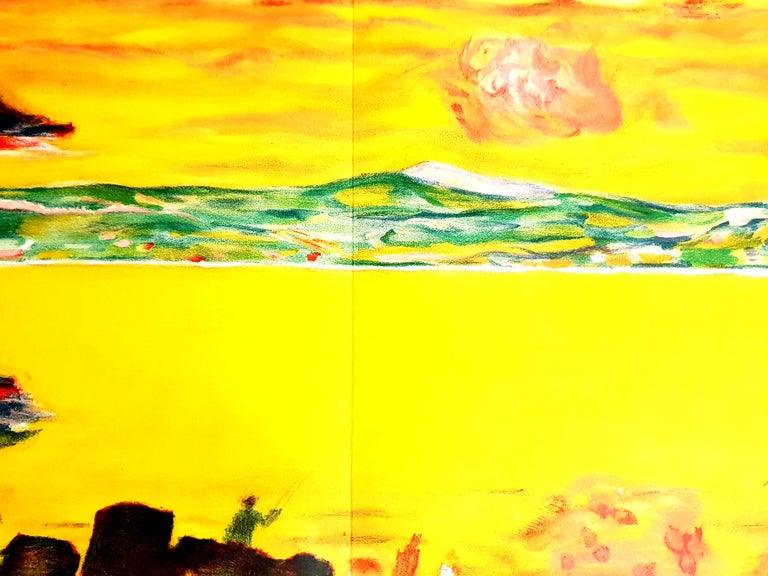 Pierre Bonnard - Sunset on the Mediterranean - Original Lithograph For Sale 7