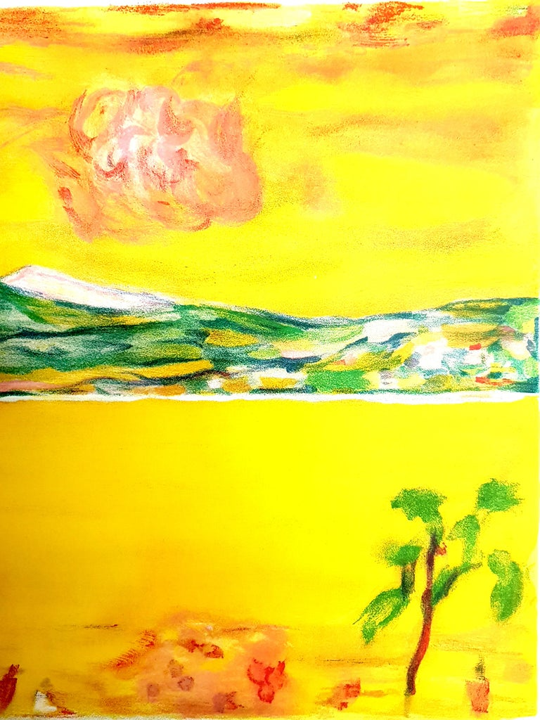 Pierre Bonnard - Sunset on the Mediterranean - Original Lithograph For Sale 2