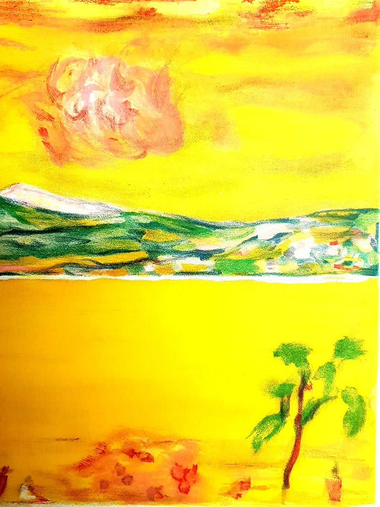 Pierre Bonnard - Sunset on the Mediterranean - Original Lithograph For Sale 3