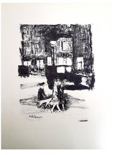 Pierre Bonnard - The Street - Original Etching