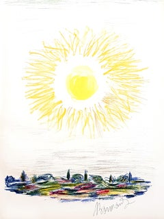 Pierre Bonnard - The Sun - Original Lithograph