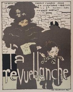Revue Blanche : The Elegant Woman- Lithograph (Les Maîtres de l'Affiche), 1895