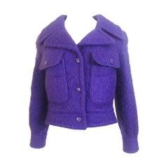 Pierre Cardin 1960s Mohair Jacket