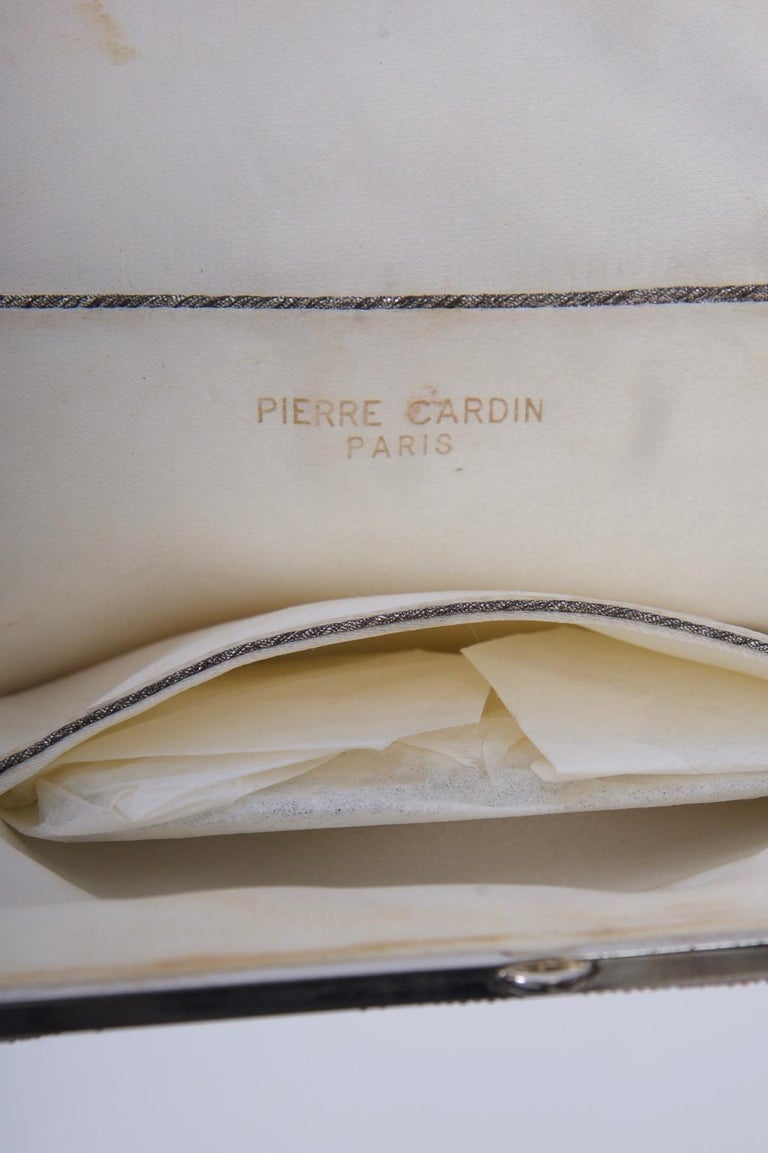 Pierre Cardin Beaded Bag, c.1970 For Sale 7