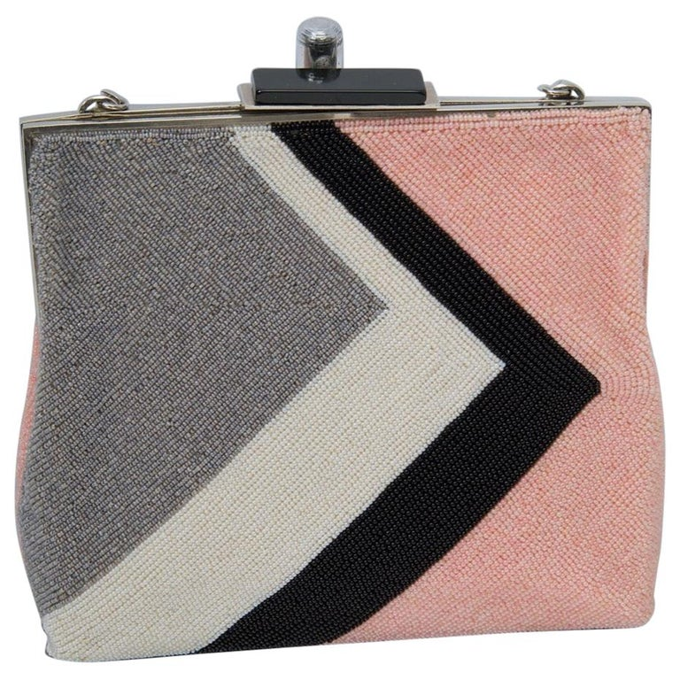 Pierre Cardin Beaded Bag, c.1970 For Sale