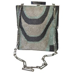 Pierre Cardin Beaded Handbag 1960s
