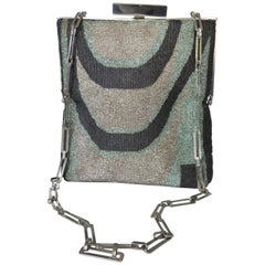 Pierre Cardin Beaded Handbag 1960s