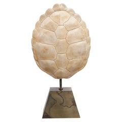 Pierre Cardin Ceramic Tortoise Shell Lamp, France, 1960s