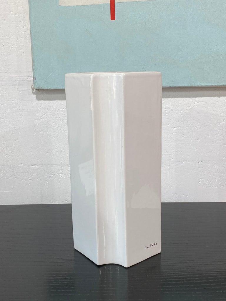 Late 20th Century Pierre Cardin, Ceramic Vase, 1979 For Sale