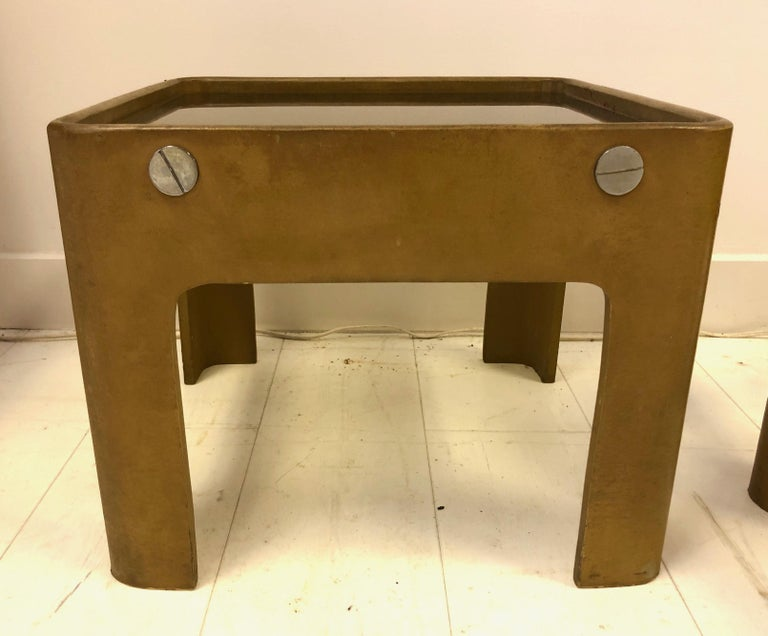 Pierre Cardin End Tables In Good Condition In Hudson, NY