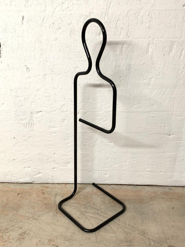 Powder-Coated Pierre Cardin Figural and Sculptural Valet Coat or Towel Rack For Sale
