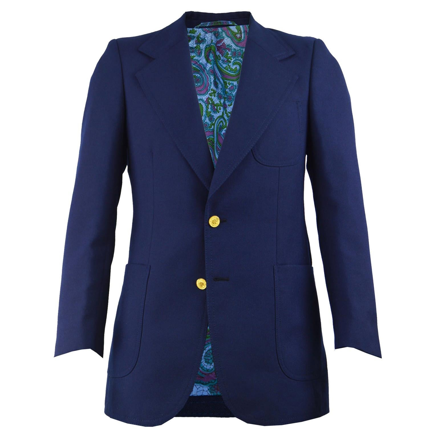 Men/'s Pierre Cardin Suit Brown 1950/'s Vintage Style Wool Blend