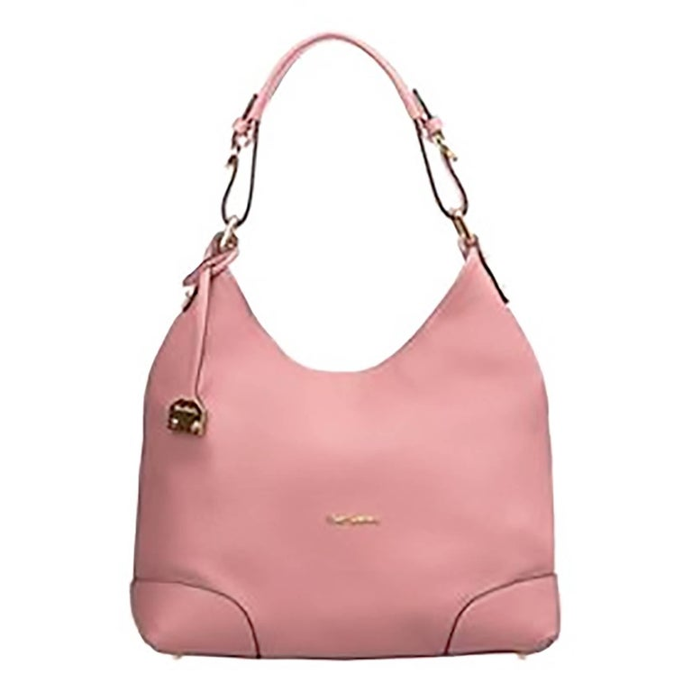 Pierre Cardin New rose pink leather hobo bag handbag