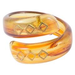Pierre Cardin Resin Snake Bracelet