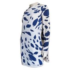 Pierre Cardin Silk Cape Back Dress 1960s