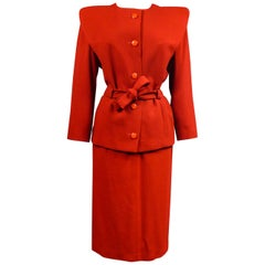 Pierre Cardin Skirt Suit Circa 1980