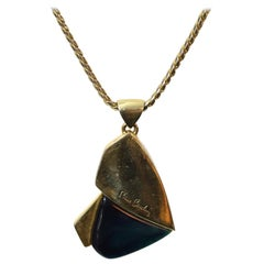 Pierre Cardin Vintage 1970's Modernist Necklace