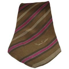 Pierre Cardin vintage multicoloured tie