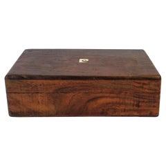 Pierre Cardin Wood Jewelry Box