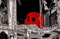 Démolition. Tête de mort