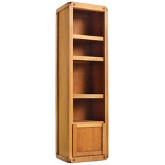 Pierre Chapo Bookcase B10 in Solid Elm